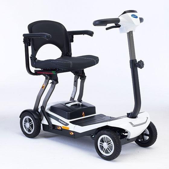 Invacare Scorpius scooter eléctrico plegable