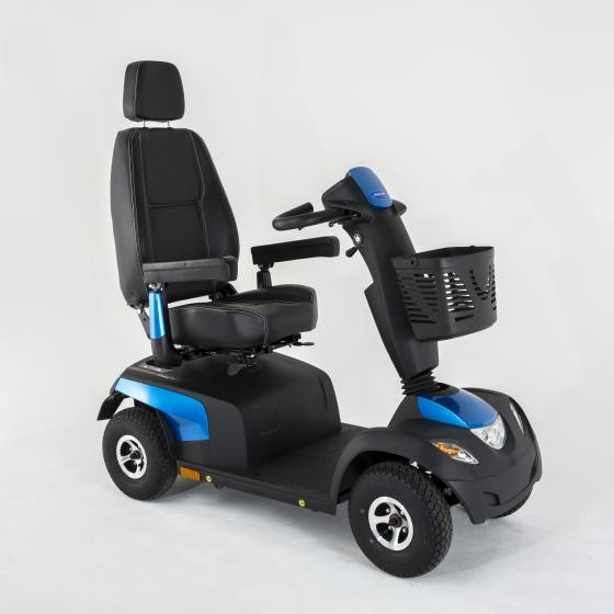 Invacare Comet Alpine + heavy duty mobility scooter