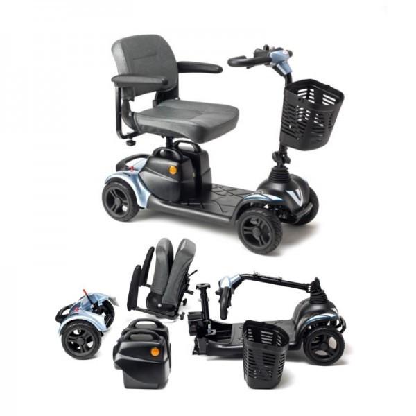 Apex i-Nano scooter de movilidad pequeño desmontable