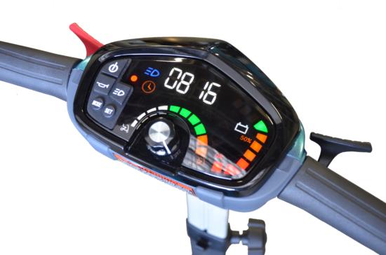 Apex i-Laser scooter de movilidad plegable