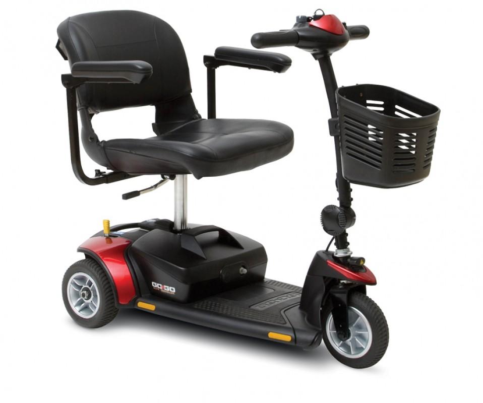 GOGO Elite Traveler 17Ah portable mobility scooter