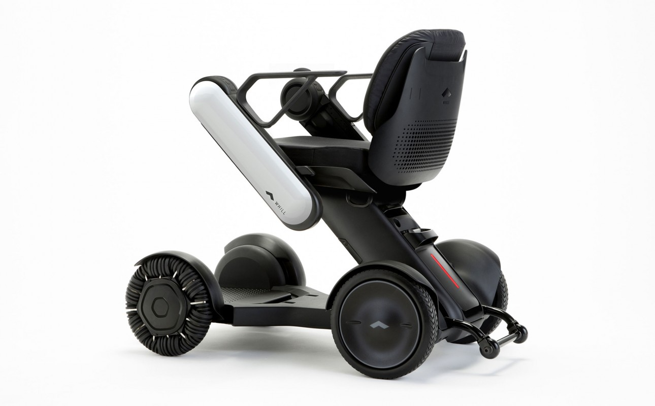 WHILL Ci silla de ruedas eléctrica desmontable