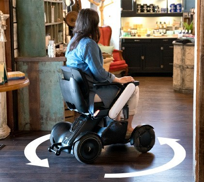 WHILL Model C2 silla de ruedas eléctrica desmontable