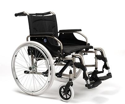 Vermeiren V100XL silla de ruedas manual bariátrica