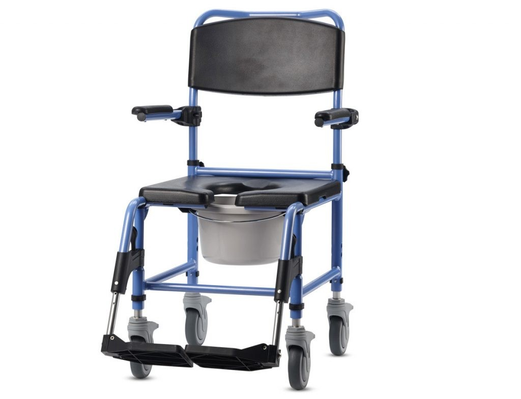 Wheelchair for shower and toilet TS AQUA