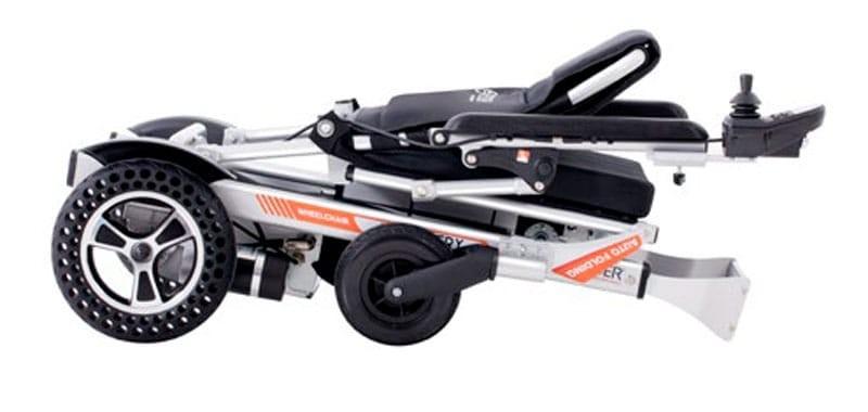 Teyder Discovery 1470SE silla de ruedas eléctrica ultraligera con plegado automático