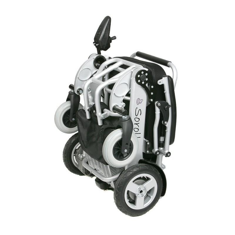 Sorolla Mini silla de ruedas eléctrica plegable ultraligera