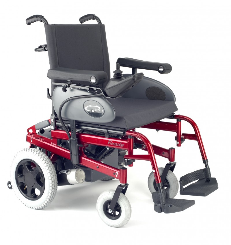 Quickie Rumba folding power chair