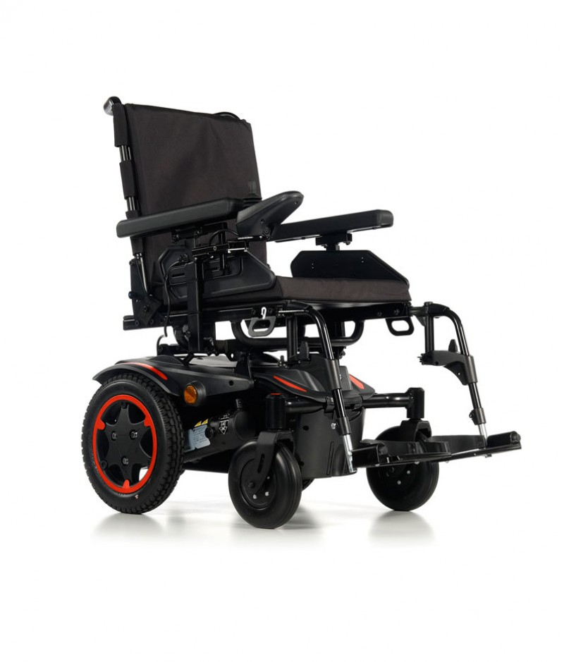 Quickie Q100 R silla de ruedas eléctrica