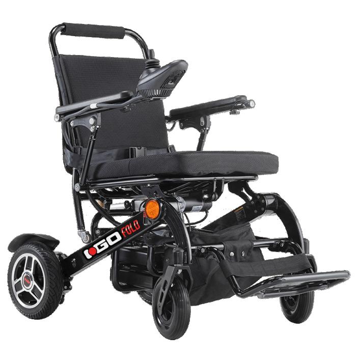 Pride i-Go Fold silla de ruedas eléctrica plegable ultraligera