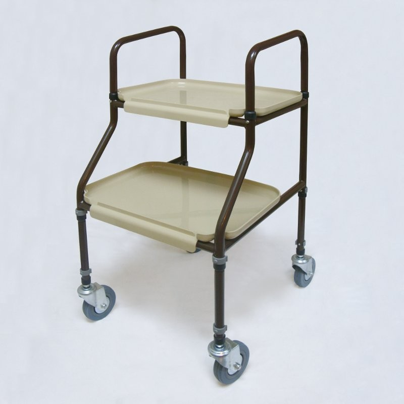 Cart with transport wheels
