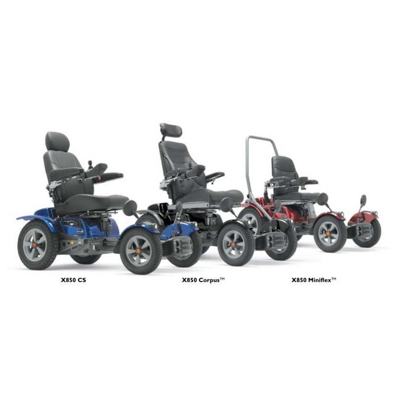 Permobil X850 silla de ruedas eléctrica todoterreno
