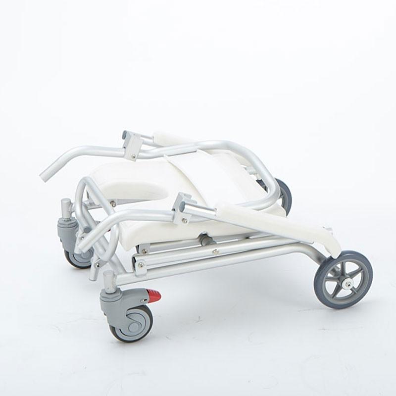 ew Victoria Roller 1512BN silla de ducha con estructura de aluminio