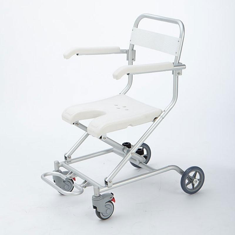 New Victoria Roller 1512BN silla de ducha con estructura de aluminio