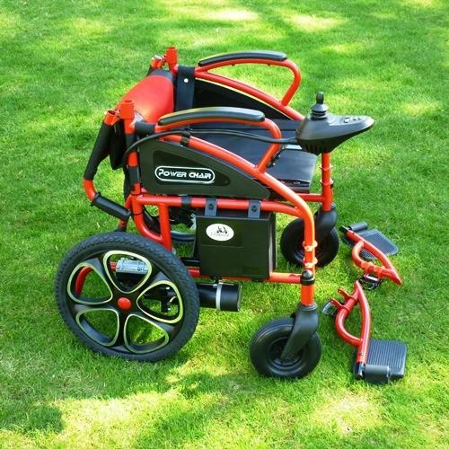 Libercar Power Chair Sport Litio silla de ruedas eléctrica plegable
