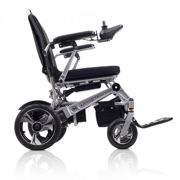 Kittos Travel silla de ruedas eléctrica estrecha ligera y plegable