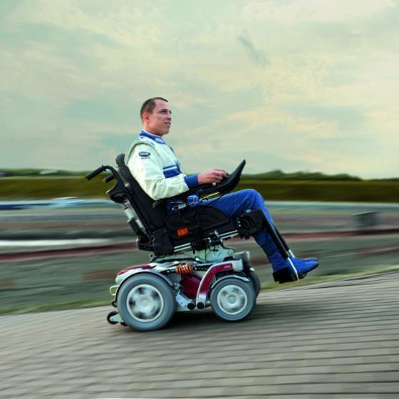 Invacare Storm 4 X-plore silla de ruedas eléctrica todoterreno