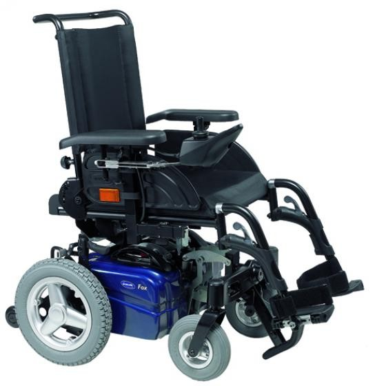 Invacare Fox silla de ruedas eléctrica plegable