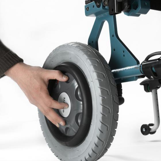 Invacare Esprit Action 4 NG silla de ruedas eléctrica plegable