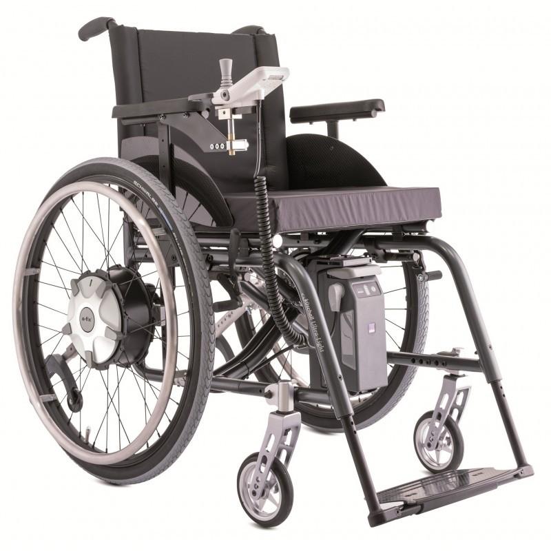 Invacare Alber e-fix Motor eléctrico integrado en tu rueda de tus sillas de ruedas