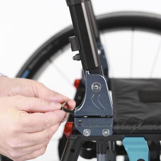 Invacare Action 5 silla de ruedas manual semi activa