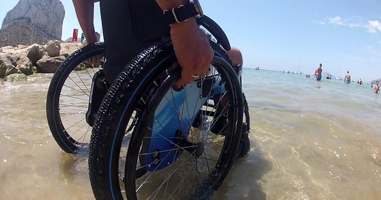 Forta Trial Playa silla de ruedas sumergible