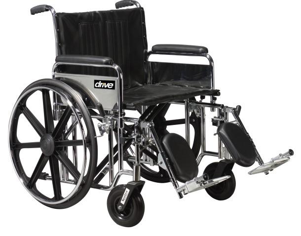 Drive Medical Sentra EC silla de ruedas bariátrica