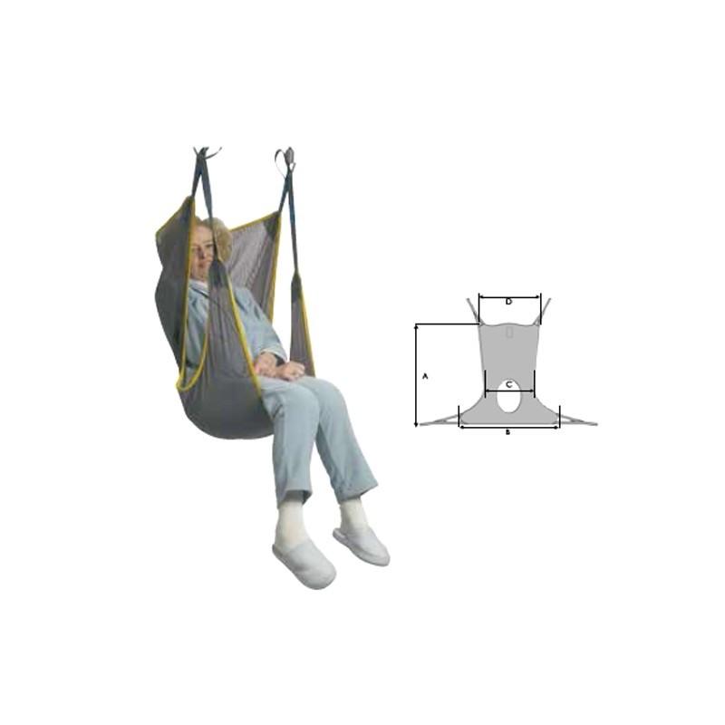 Arnés comfort toilet