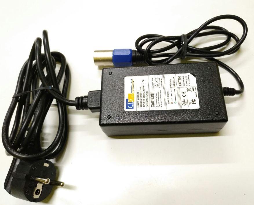 Cargador Batería Litio 24V 2a Li-Ion