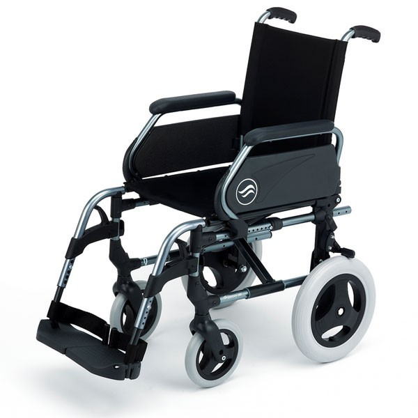 Breezy Style silla de ruedas no autopropulsada de aluminio