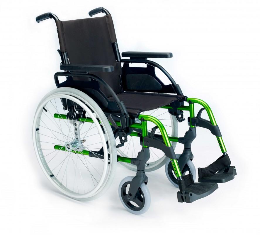 Breezy Style silla de ruedas manual autopropulsada de aluminio