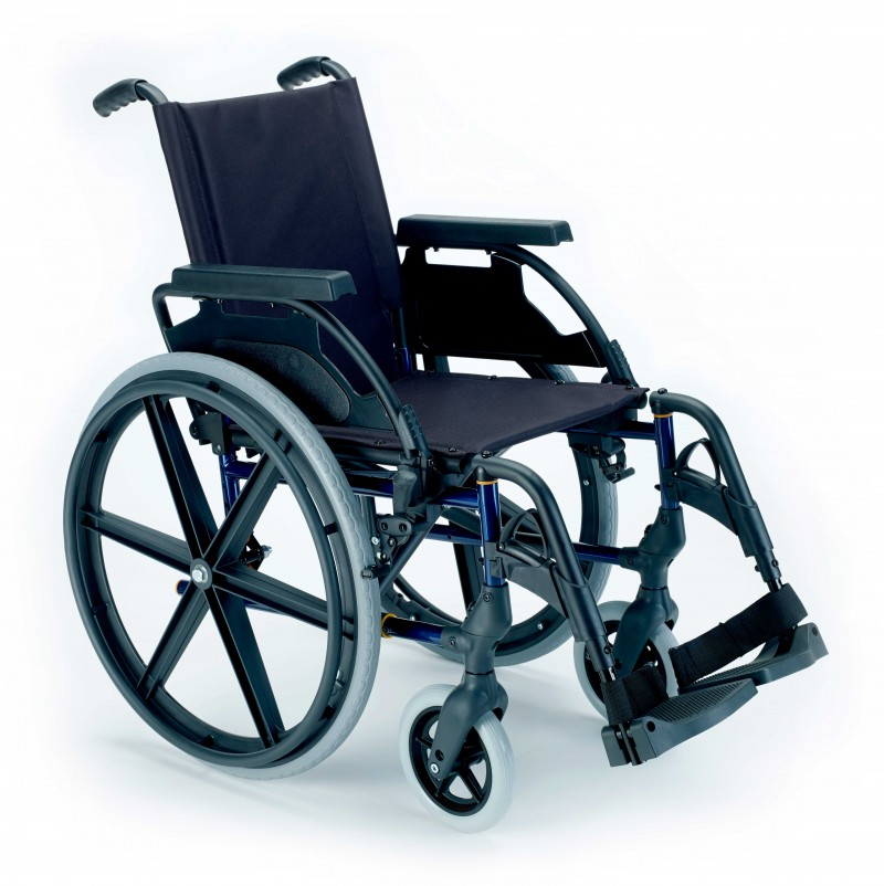 Breezy Premium silla de ruedas manual autopropulsada