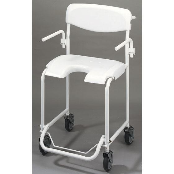 Alize shower chair with wheels