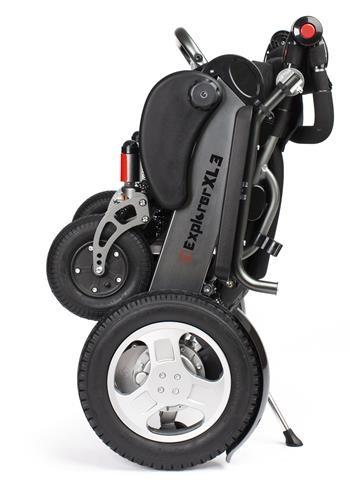 Apex iExplorer XL3 silla de ruedas eléctrica bariátrica plegable