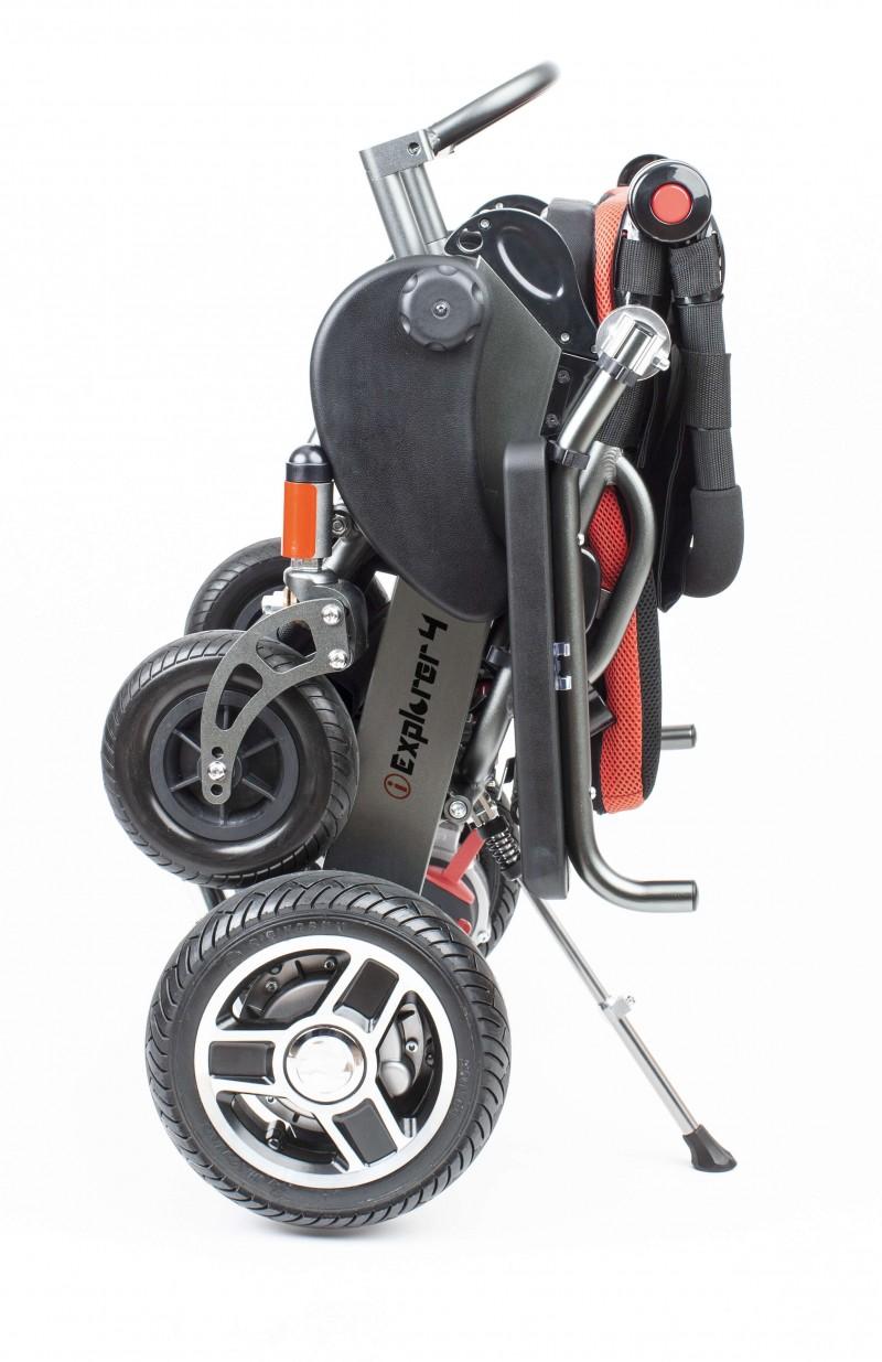 Apex i-Explorer 4 Plus silla de ruedas eléctrica plegable