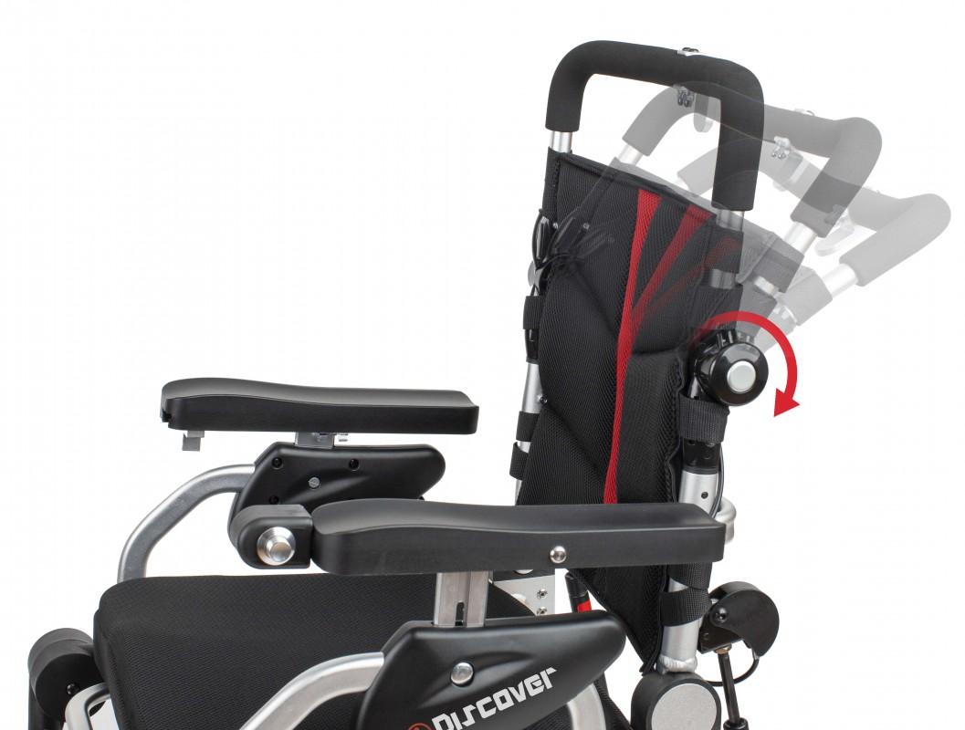 Apex i-Discover silla de ruedas eléctrica plegable