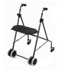 Andador plegable 4 ruedas A138/R