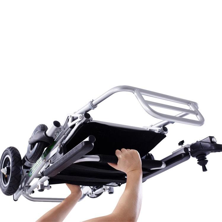 Airwheel H3PS Mini silla de ruedas eléctrica ultraligera plegable con control remoto