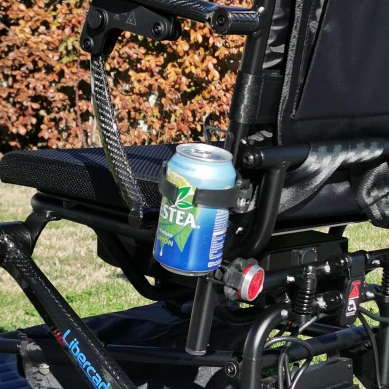 Libercar Alma silla de ruedas eléctrica plegable ultraligera de fibra de carbono