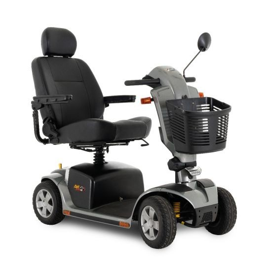 Pride Colt Deluxe 2.0 compact and easy to disassemble mobility scooter