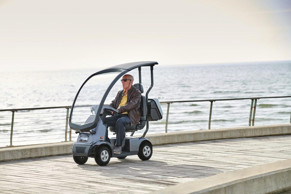 Afiscooter C4W scooter eléctrico de movilidad de 4 ruedas