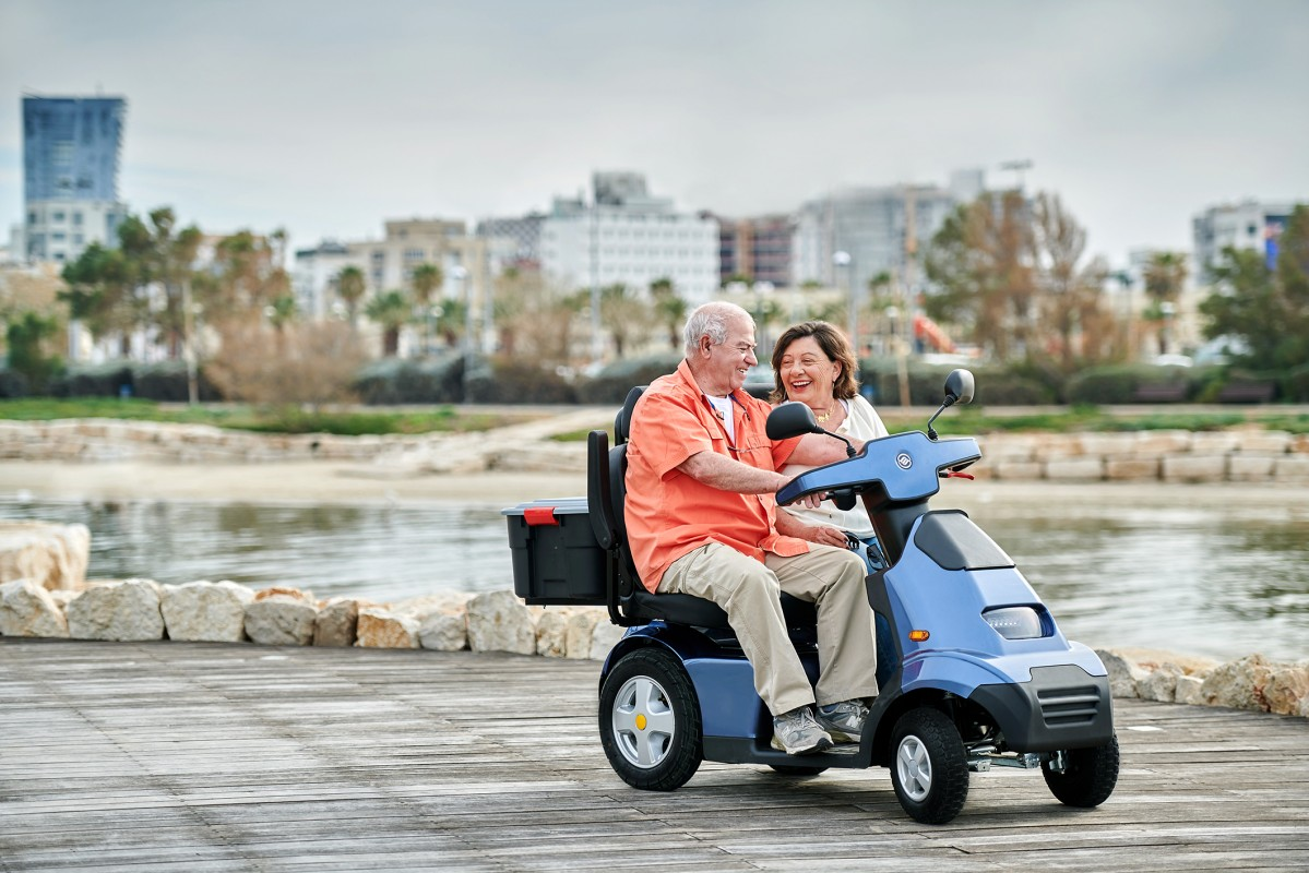 Afiscooter S4W Scooter Eléctrico Heavy Duty