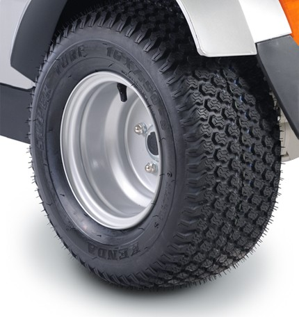 Extra wide wheels for Afiscooter S