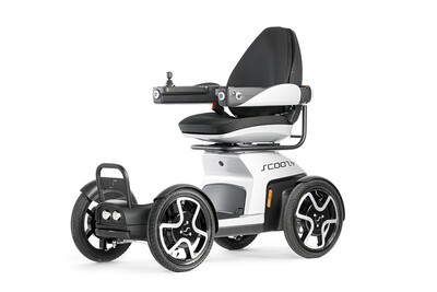 Scoozy C 2WD, the personal electric vehicle with 4 wheels