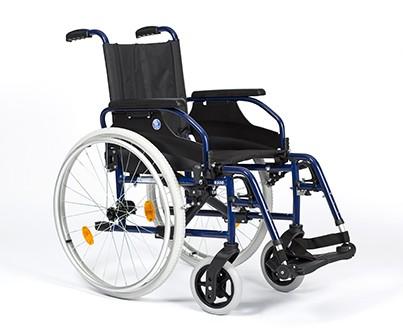 Silla de ruedas manual ligera autopropulsable Vermeiren D200P