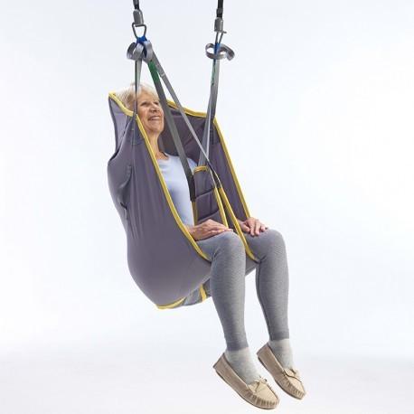 Universal harness high spacer sling hammock