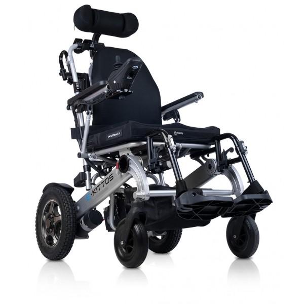 e-Kittos silla de ruedas eléctrica con plegado automático
