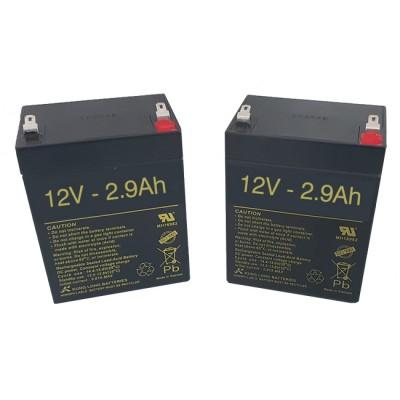 Batería para grúa eléctrica Invacare Reliant 12v 2,9ah