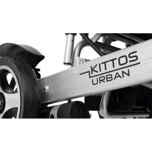 Kittos Urban silla de ruedas eléctrica plegable ligera y urbana