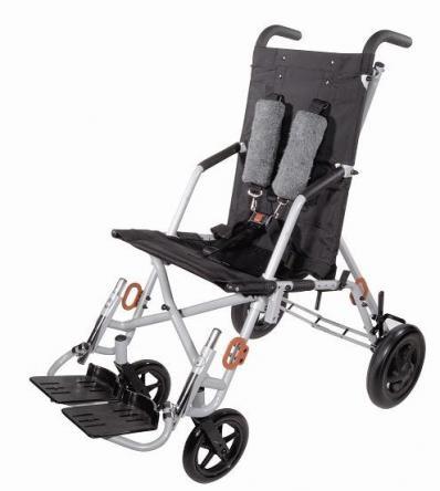Silla de ruedas de ruedas de posicionamiento infantil plegable ligera Trotter para alquilar en Madrid